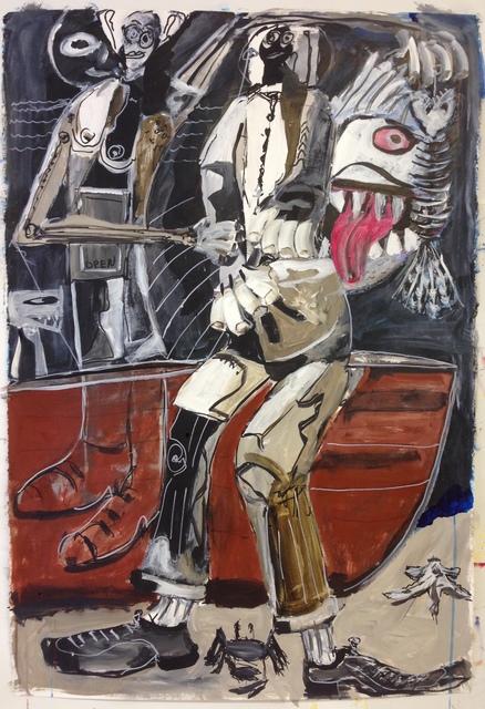 , 'Fishing Nightmare,' 2014, Paraphé