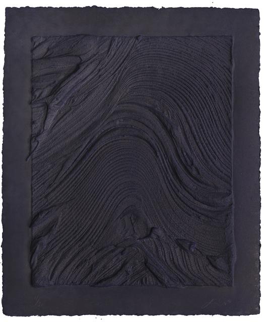 Jason Martin, 'Untitled (Plate VI)', 2010, Mixografia