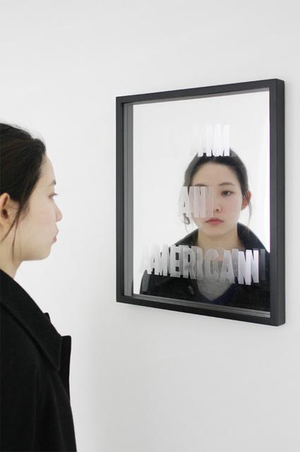 , 'I AM AN AMERICAN,' 2013, AISHO MIURA ARTS