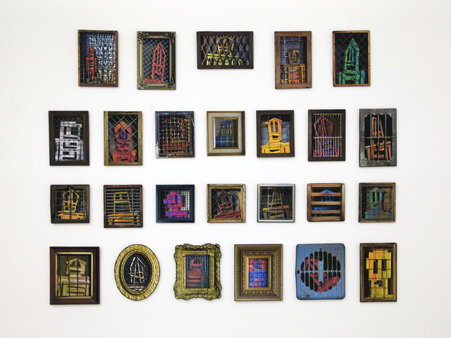 , '25 Trapped Men,' 2017, Jonathan LeVine Projects