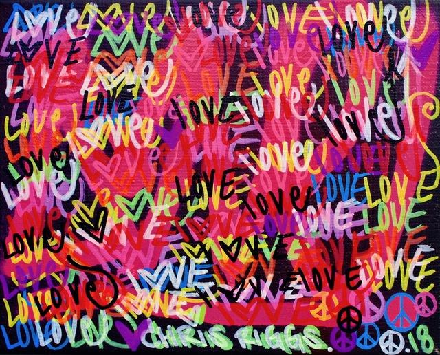 , 'Love Canvas 1,' 2018, Open Mind Art Space