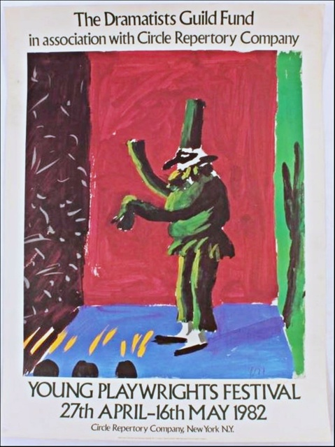 David Hockney, 'THE DRAMATISTS GUILD (Hand Signed) from the Collection of Anthony Haden-Guest', 1982, Alpha 137 Gallery Gallery Auction