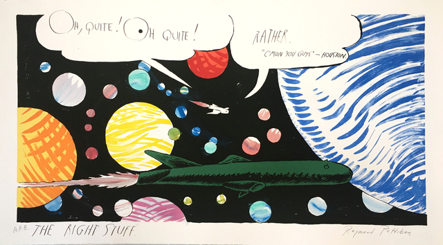 , 'No Title (spaceship with planets),' 1998, The LODGE