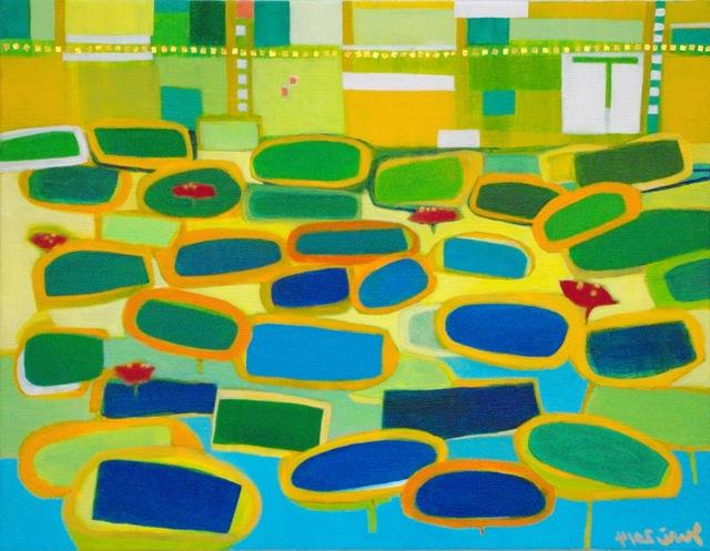 , 'Voices of the Lotus,' 2014, Fann- A- Porter