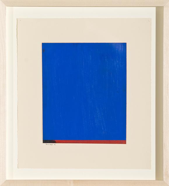 , 'Untitled F,' 2012, Bentley Gallery