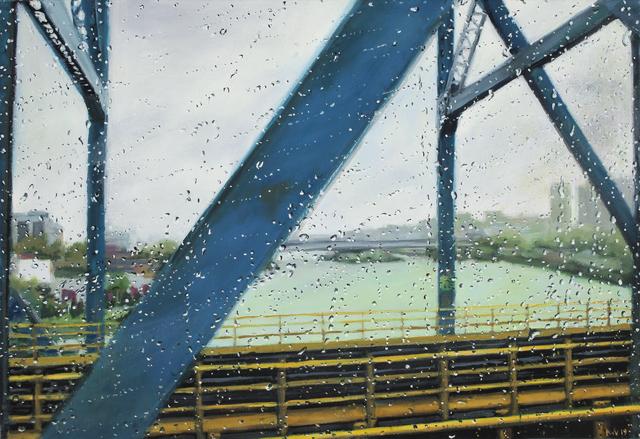 Karen Woods, ' Blue Bridge', 2019, Painting, Oil on linen, George Billis Gallery