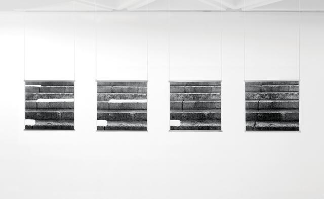 , 'snow+concrete XII,' 2009-2012, Galerie du Monde