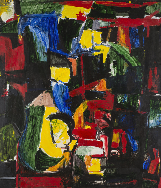 , 'Yellow Profile,' 1070, Artport Studio