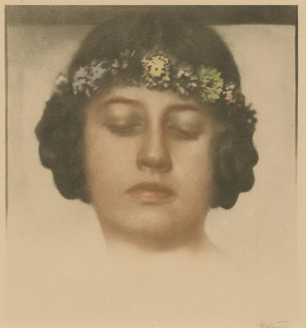 , 'Untitled (Maedchen mit Kranz),' ca. 1920, Kicken Berlin