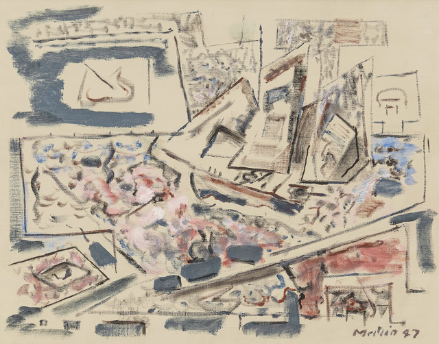 , 'Movement: Sea Played with Boat Motive,' 1947, Menconi+Schoelkopf