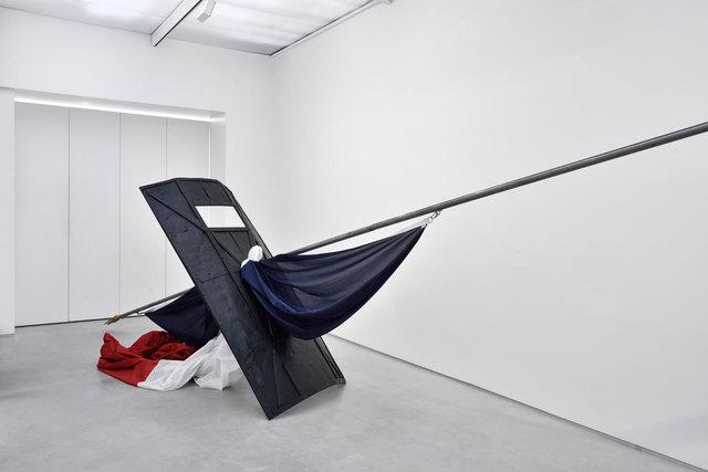 , 'Le drapeau de nos pères,' 2017, Galerie Christophe Gaillard