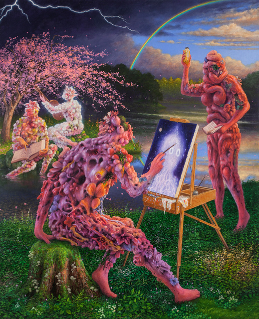 , 'Painter with Spectral Vision,' , Corey Helford Gallery