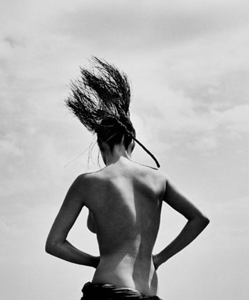 Herb Ritts, 'Consuelo With Pine Branch, Paradise Cove', 1984, Staley-Wise Gallery