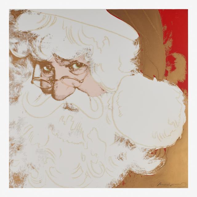 Andy Warhol, 'Santa Claus from the Myths portfolio', 1981, Rago
