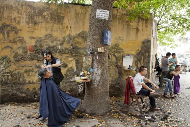 , 'Hanoi Barbers,' 2014, Art Vietnam Gallery