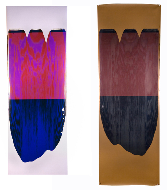 , 'Moiré Pull (Magenta/Blue),' 2005, Heather Gaudio Fine Art