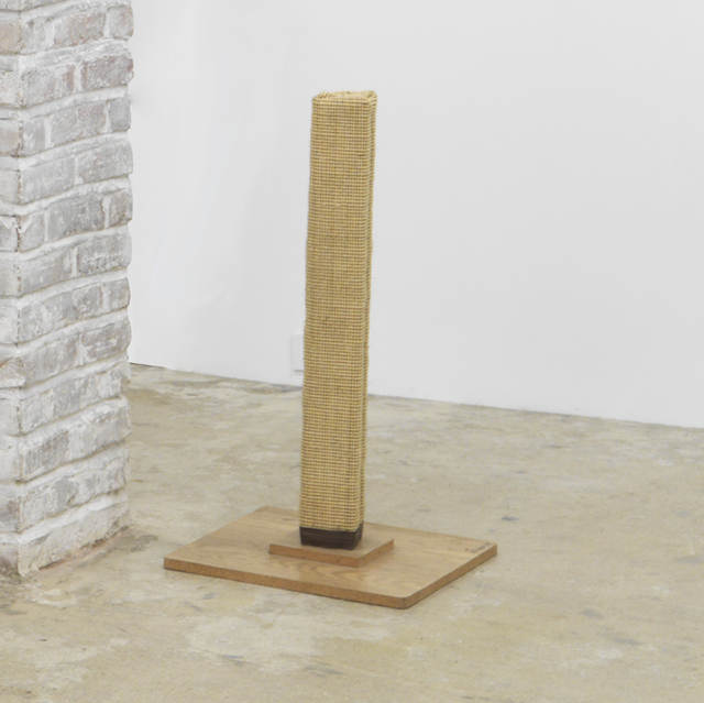 , 'Untitled (cat scratching post),' 1989, Magenta Plains
