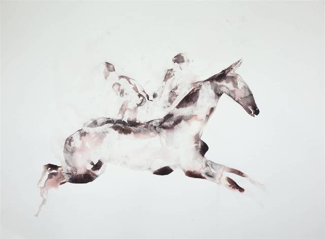 , 'Horse Carrrying Twin Souls,' 2018, Agora Gallery