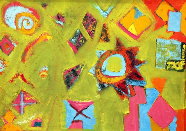 , 'Sunburst,' ca. 1955, David Richard Gallery