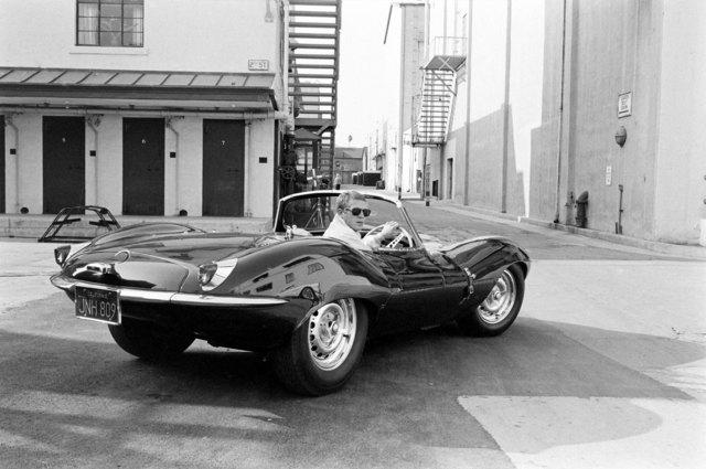 , 'Steve McQueen in black Jaguar at Studio, CA,' 1963, Ira Stehmann Fine Art Photography