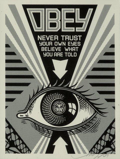 Shepard Fairey, 'Obey Eye (Black)', 2009, Heritage Auctions