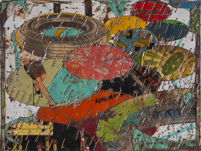 , 'Spare Tire,' 2016, Tayloe Piggott Gallery