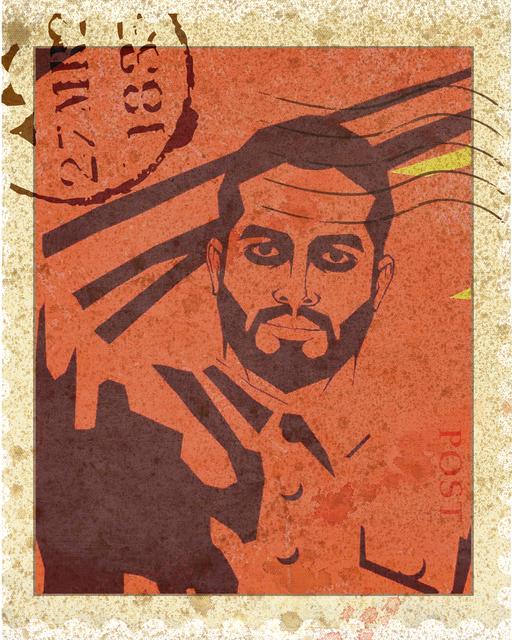 Mahmoud Obaidi, 'Propaganda-9 (The Replacement Series)', 2013-2014, Deborah Colton Gallery