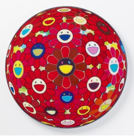 Takashi Murakami, 'RED FLOWERBALL (3D)', 2017, Marcel Katz Art