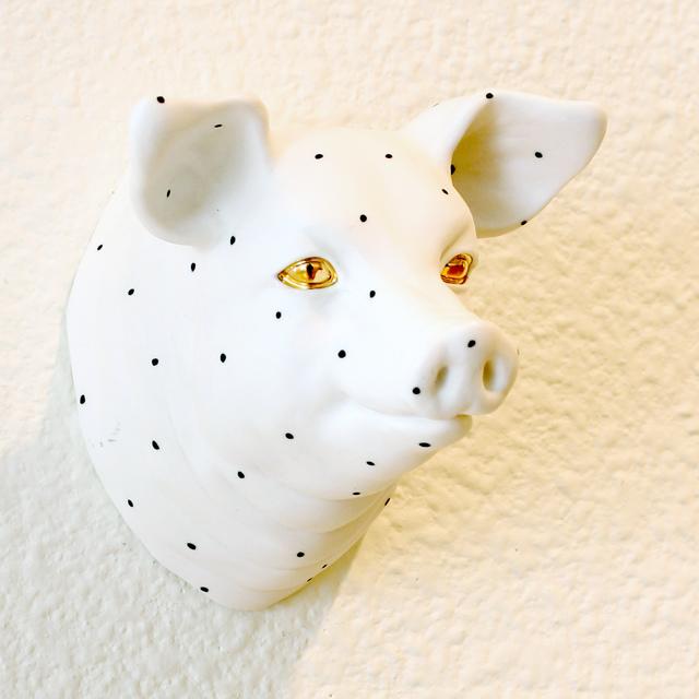 , 'Happy Pig 1,' 2017, form & concept