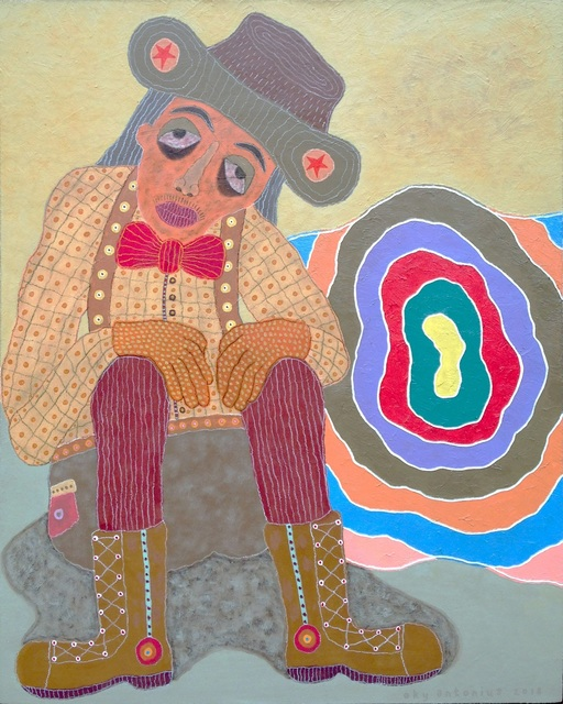, 'The Thinker,' 2018, Redbase Art