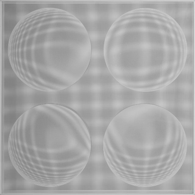 , '4 Esferas Expansivas (Blanco),' 2015, Art Nouveau Gallery