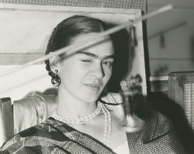 , 'Frida Winking,' 1933, Bentley Gallery