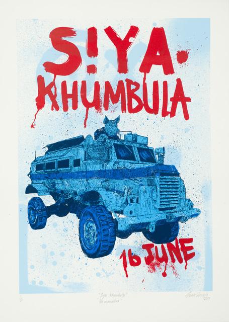 , 'Siya Khumbula - 16 June,' 2017, Kalashnikovv Gallery