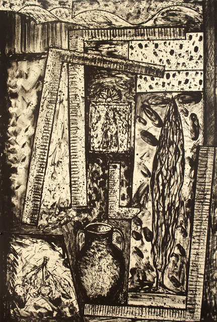 , 'Pot, Cherries and Retablo,' 1989, Tamarind Institute