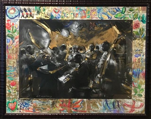 , 'Gospel Night with Flowers,' 2016, Sladmore Contemporary