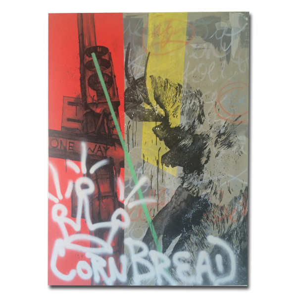 , 'CornBread Returns,' 2015, Gallery 38
