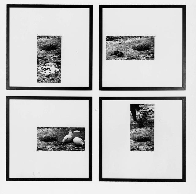 , 'Plundered/Dug/Prepared/Dry,' 1975, Galleria Massimo Minini
