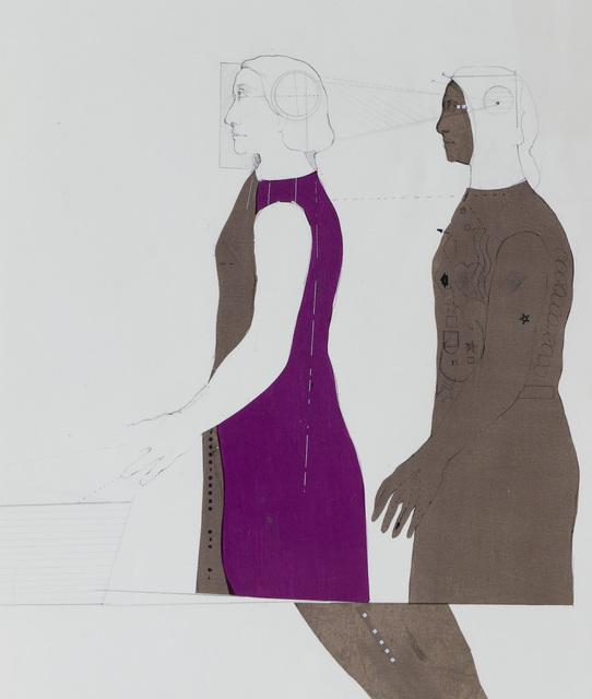 , 'Robot and Her Shadow,' 1963, Anglim Gilbert Gallery