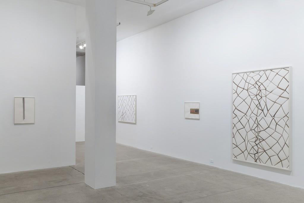 Silvia Bachli, 'Avanti. Diventa.', 2016 - Installation View at Galleria Raffaella Cortese, Milano - Photo: Lorenzo Palmieri