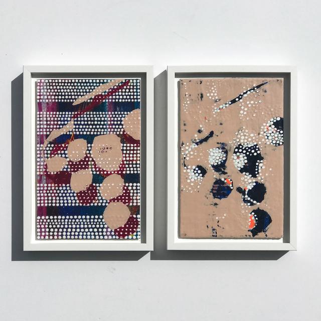 Nina Tichava, 'Cluster 1 & 2, Study No. 110 & 111', 2019, k contemporary