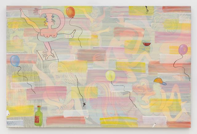, 'Bachelor Party,' 2018, Anna Zorina Gallery