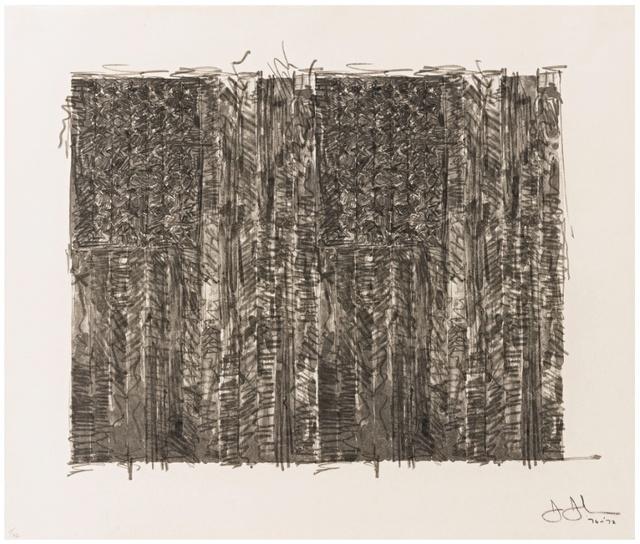 Jasper Johns, 'Two Flags', 1970-1972, Gregg Shienbaum Fine Art