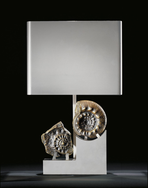 , 'Fossil Lamp with shade,' 1975, Demisch Danant