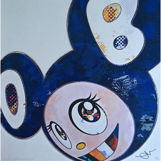 Takashi Murakami, 'And Then x 727 (Ultramarine GUNJO) - (Blue)', 2013, Lougher Contemporary