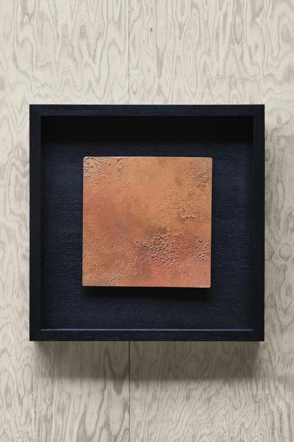 ", '""Terre Rouge"" wall sculpture,,' 1980, Magen H Gallery"