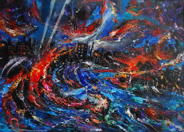 , 'Nightmare - Thames River Blitz,' 2006, Robert Eagle Fine Art