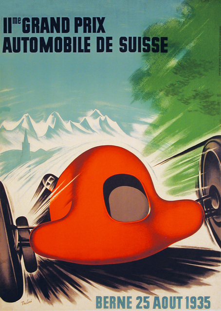 , 'IIme Grand Prix Automobile de Suisse - Swiss Grand Prix 1935,' 1935, Omnibus Gallery