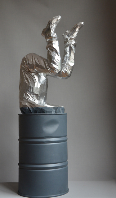 Willy Verginer, 'La Testa Nel Oro', 2017, Galerie LeRoyer