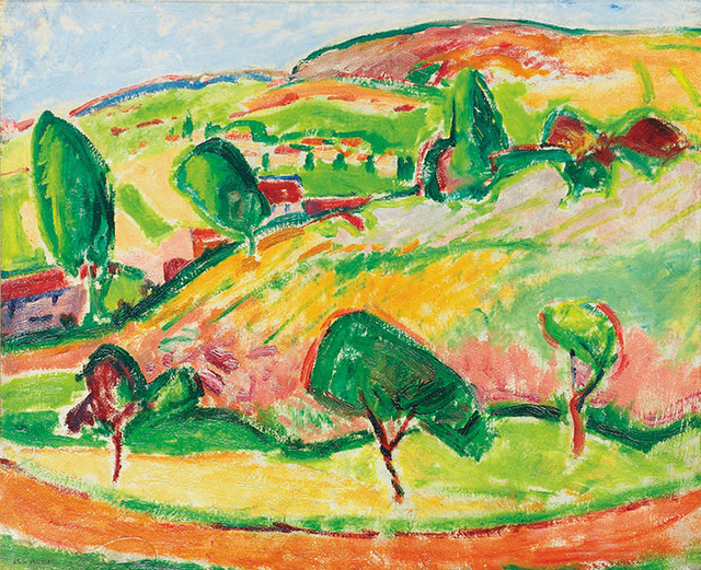 , 'Le Sentier,' 1908, Montclair Art Museum