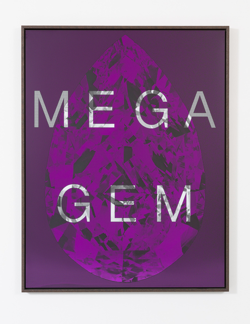 , 'Mega Gem (Largest Diamond Known to Man),' 2016, Maddox Gallery